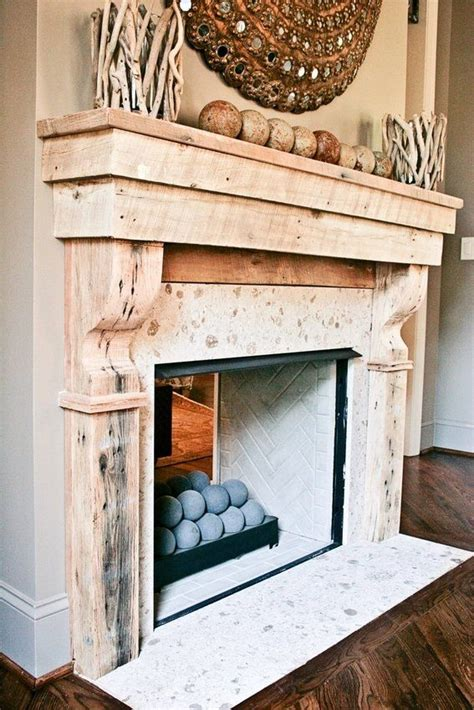custom reclaimed wood mantle reclaimed wood