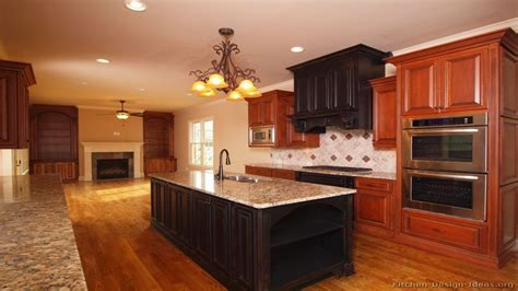 dark cherry wood cabinets paint colors cherry cabinets