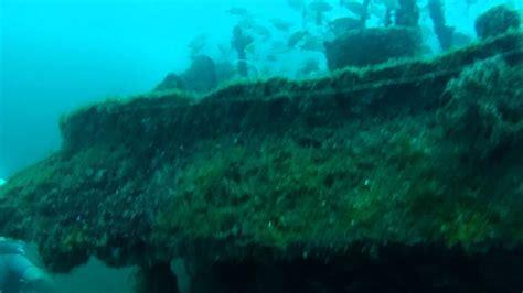 scuba diving sherman tugboat panama city fl youtube