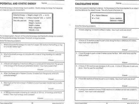 printables energy calculations worksheet mywcct thousands printable activities