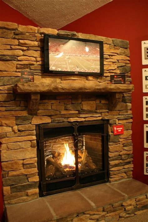 fireplace xtrordinair 864 gas fireplace stone facia