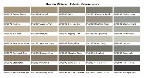 Sherwin Williams Sandstone Paint Color