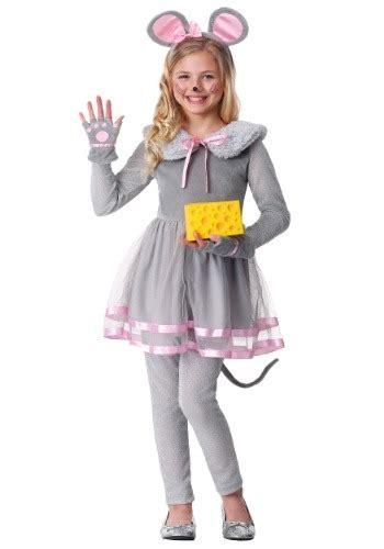 girl cute mouse costume