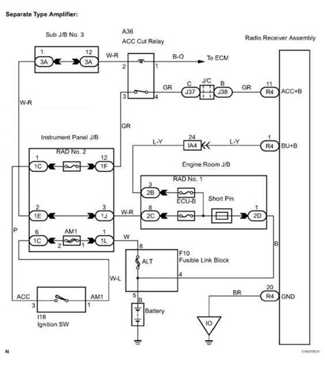 tacoma stereo wiring diagram toyota sequoia equipment