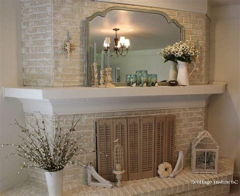 cottage instincts fireplace