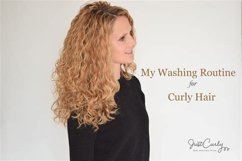 washing routine curly hair justcurly