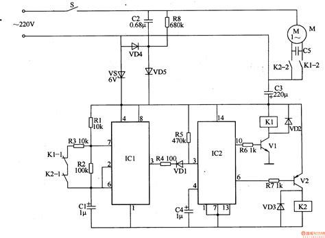 washing machine electronic program controller control circuit circuit