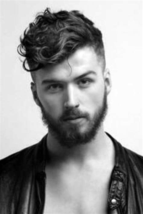 25 curly fade haircuts men manly semi fro