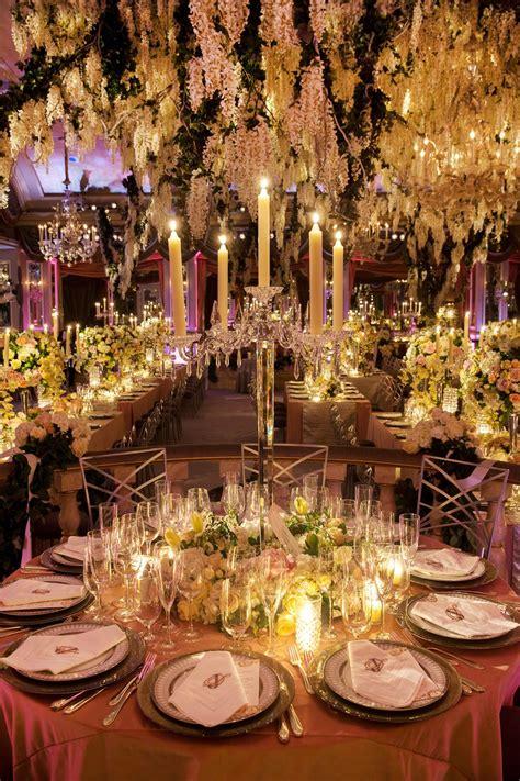 glamorous indoor garden wedding york city romantic wedding