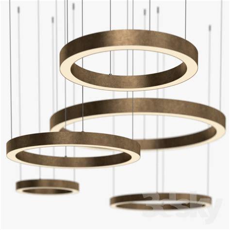 3d models ceiling light henge light ring horizontal