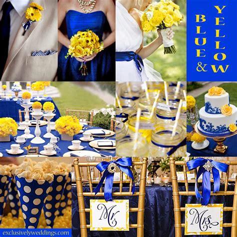 bride groom wedding matters royal blue yellow wedding