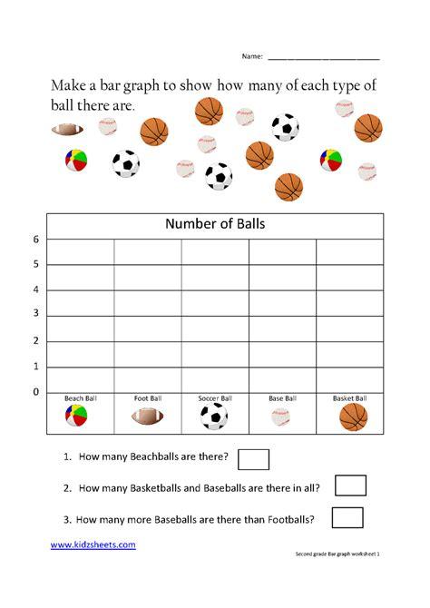 grade bar graph worksheet1 grade worksheets kids math