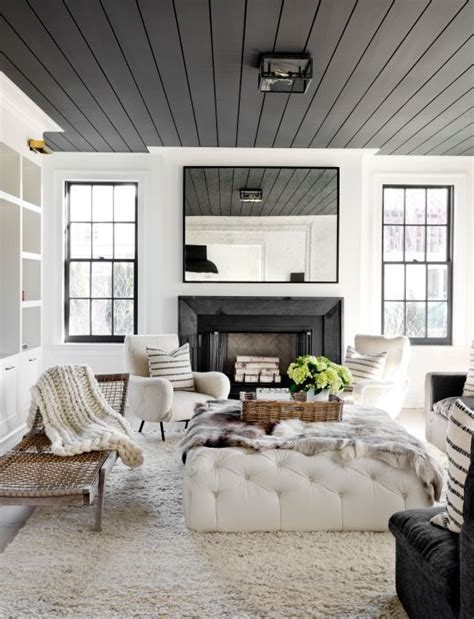 6 paint colors splash ceilings black white living