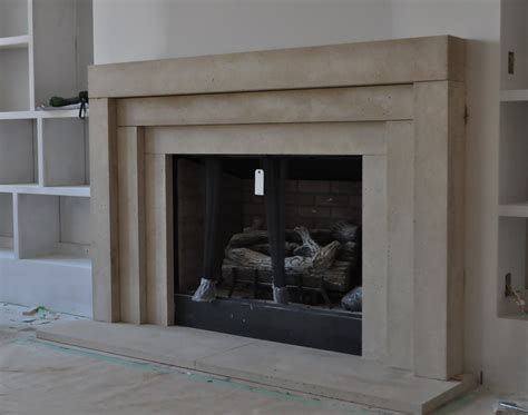cast stone fireplace mantel contemporary modern traditional