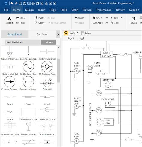 schematic diagram software free download online app