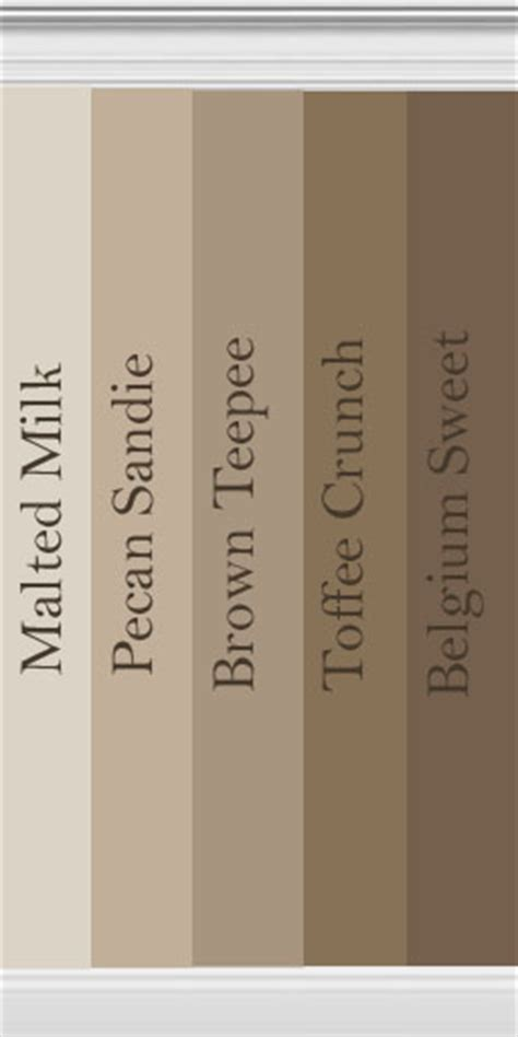 mod sims collection brown walls inspired behr