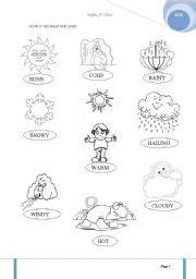 grade weather climate worksheets weather