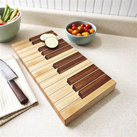 keyboard cutting board woodworking plan wood magazine grain