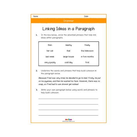 grammar year 5 worksheets english ks2 melloo