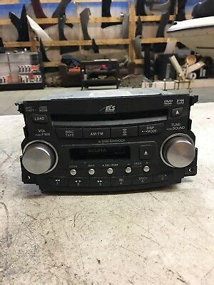 2005 acura tl 6 stereo cd player changer