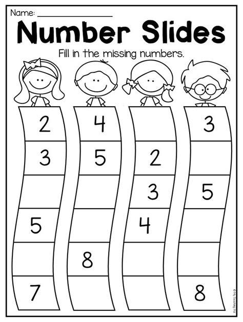 kindergarten numbers 20 worksheet pack distance learning numbers