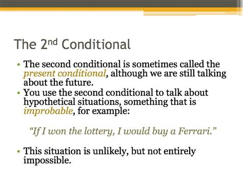 conditional sentences presentation lesson plans jeffcaffrey teaching resources