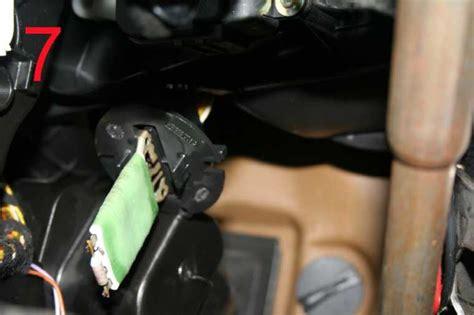peugeot 206 307 heater fan resistor wiring harness