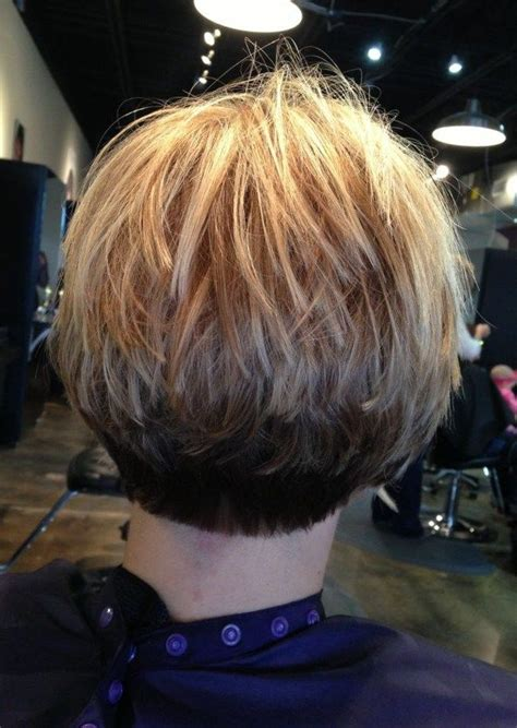 stacked bob fine hair inverted stacked bob hair