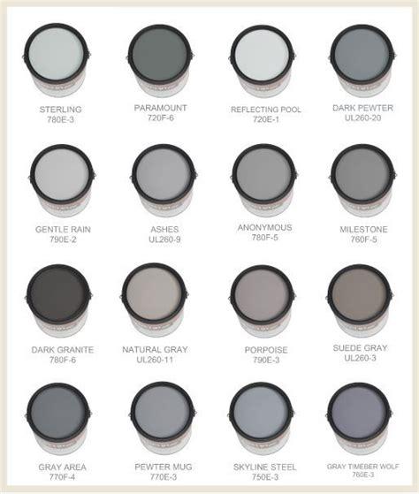 grays blues behr