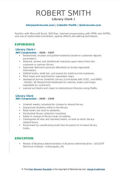 Resume For Library Page.html
