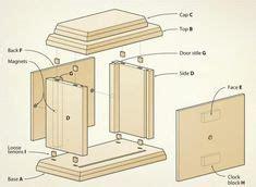 14 clocks images woodworking wood magazine wood