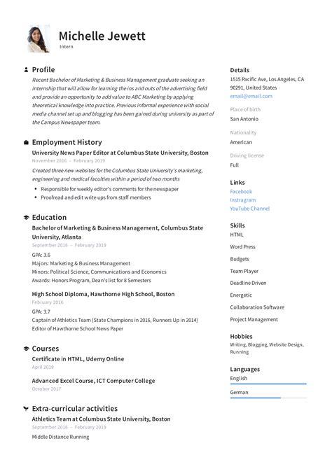 Resume For Internship Uitm.html
