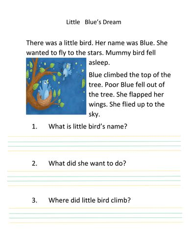 year 2 reading comprehension writing teaching resources