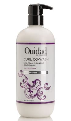 ouidad curl wash shoo conditioner curly hair started
