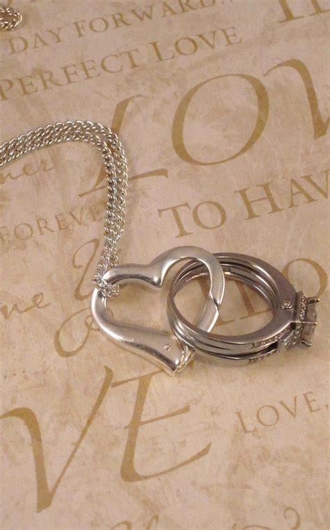 aloralocks original floating heart wedding engagement ring holder