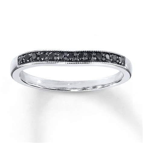 15 black diamond wedding bands