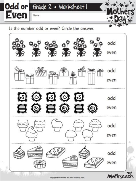 free mother day themed math worksheets reading eggs