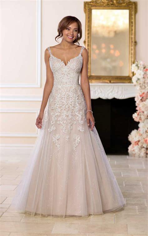 open wedding dress beading stella york wedding gowns