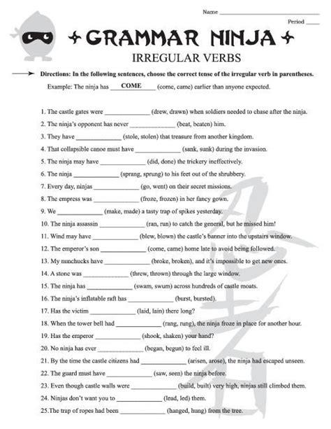 free english grammar worksheets 4th grade 3