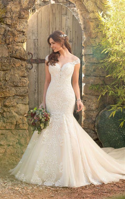 mermaid wedding dress rich beadwork essense australia wedding