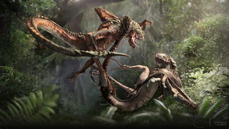 fine art monster fights fights kotaku australia