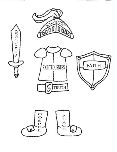 armor god coloring pages awesome 101 worksheets