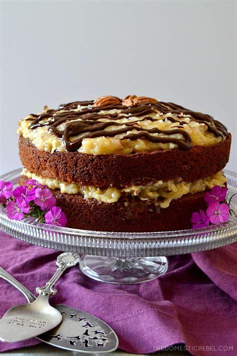 amazing german chocolate cake domestic rebel