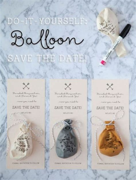 22 adorable easy diy wedding invitations pinterest