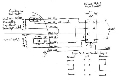 wiring single phase motor drum switch page 2