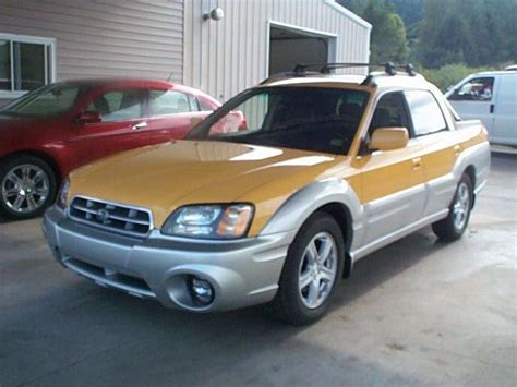 2003 subaru baja sport sale brockway pennsylvania classified