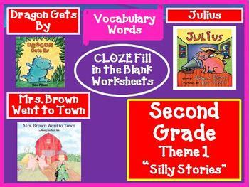 houghton mifflin reading 2nd grade theme 1 worksheets