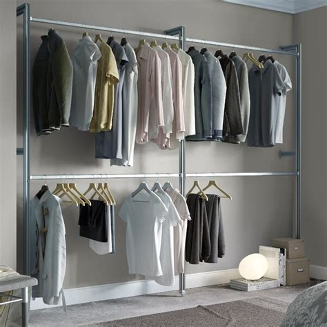 space pro relax 233cm wide clothes storage system