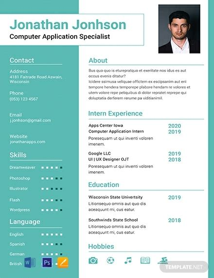 306 free resume templates download ready template