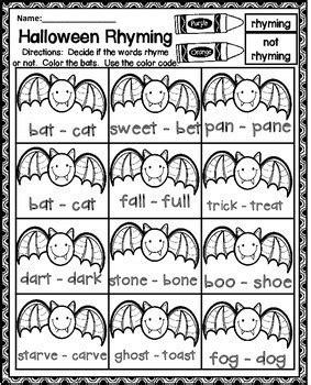 halloween worksheets teaching grade teachers pay teachers